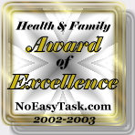 Health & Family Resources Award of Excellence